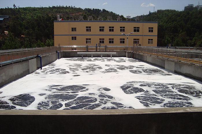 武定污水处理厂现场