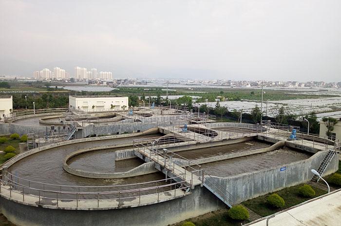 污水处理厂污水循环处理池